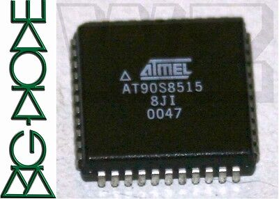 1 x AT90S8515-8JI 8-Bit AVR [r] Microcontroller with 8K bytes In-System Programm