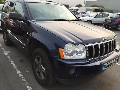 2006 Jeep Grand Cherokee 3.0 Crd Limited, **1 Owner** Leather, Climate, Alloys,