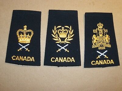 Canada navy lot of 3 different obsolete NCO's black slip ons