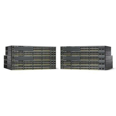 CISCO Small Business WS-C2960X-48TS-L Managed network switch L2 Gigabit Ethe...