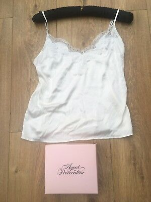 Agent Provocateur Camisole in Ivory Size 3 Amelea with small box