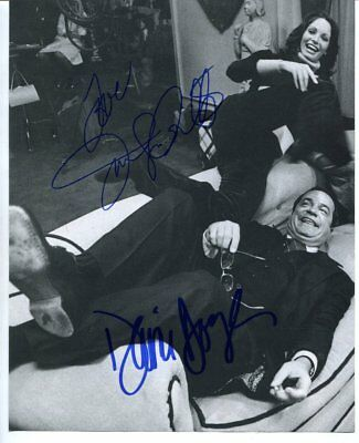 charlie's angels DAVID DOYLE & JACLYN SMITH autograph HAND SIGNED 5942