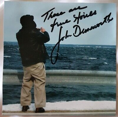 John Dunsworth (a.k.a. Lahey from TPB) Hand Signed Autographed 'Stories' CD RARE