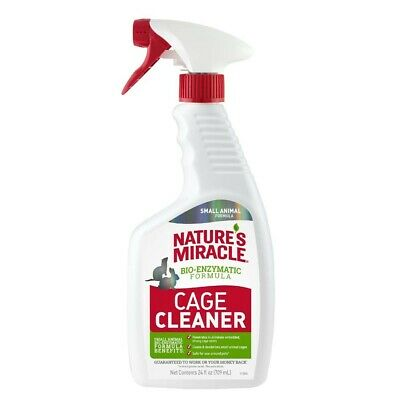 Natures Miracle Small Animal Cage Cleanser & Deodorizer Trigger Spray 24oz