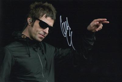 """Liam Gallagher """"Oasis"""" Genuine Autographed 12x8inch photograph"""