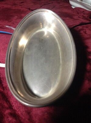 Gorham Oval Silver Serving Dish