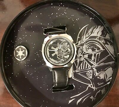1997 STAR WARS DARTH VADER FOSSIL Limited Edition Watch. 1 of 1000