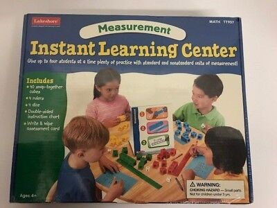 Lakeshore Instant Learning Center Measurement Math TT957 Classroom Teaching Aid