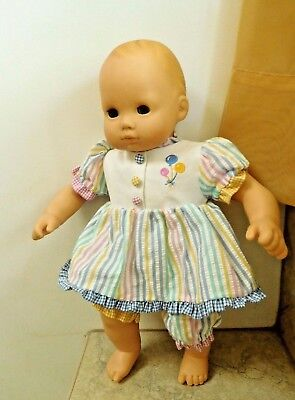 Pleasant Co. American Girl Doll Bitty Baby Blonde Hair Blue Gray Eyes / Clothes