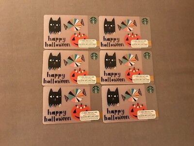 Starbucks Collector Gift Cards - Lot of 6