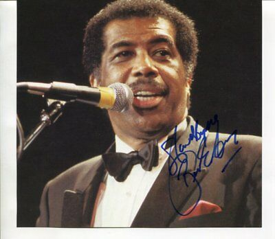 stand by me BEN E KING  hand signed AUTOGRAPH 5987