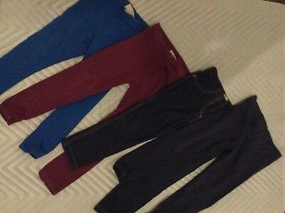 Bundle of 4x Next leggings size 3-4