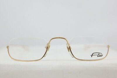 2085934bb8 Vintage Flair Half Rimless Lunettes Brille Eyeglasses New! Made In Germany