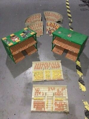 Original Subbuteo football stands and terraces