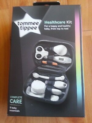 Tommee Tippee Closer To Nature Healthcare Kit Complete Care 9 Baby Essentials HQ