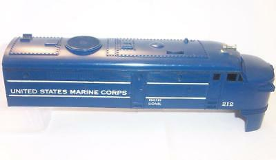 Lionel Post War Parts 212 US Marine Corps Alco Diesel Shell Cab Body Top