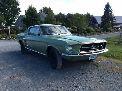 1967 Ford Mustang  1967 mustang fast back