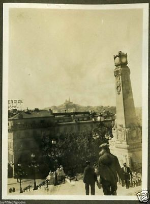 1920s MARSEILLE FRANCE & FRENCH MOROCCO PHOTO ALBUM OVER 50 PHOTO'S