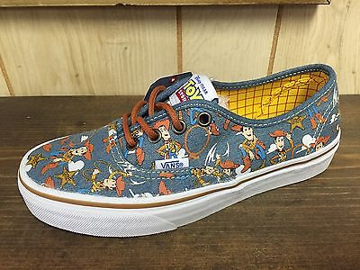 Vans X Toy Story Authentic Woody Size 6.0 (woman 7.5)