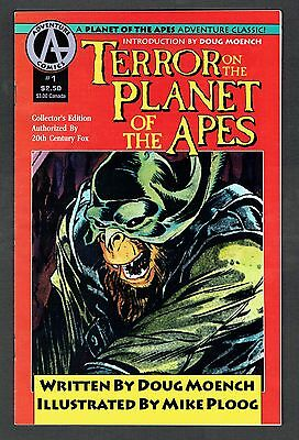 Terror on the Planet of the Apes #1 Adventure Comics 1991 VF/NM Mike Ploog Art