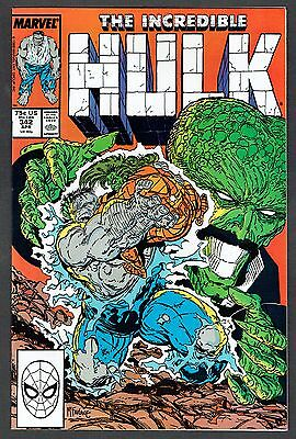 Incredible Hulk #342 Marvel Comics 1988 NM- Classic Todd McFarlane Cover & Art