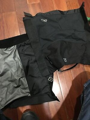 OR Outdoor Resesrch Goretex Gaiters size M