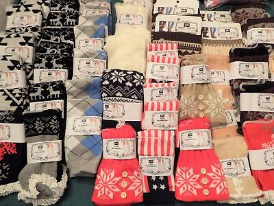 New****50 Pc Wholesale Lot Women's Leg Warmers/ Boot Cuffs – Mixed Designs***New