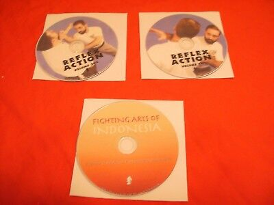 Bob Orlando Fighting Arts DVD and Reflex Action 2 DVDs