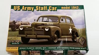 Ace 72298 US Army Staff Car Mod. 1942 Auto Befehlswagen Generals Fzg. 1:72 WWII