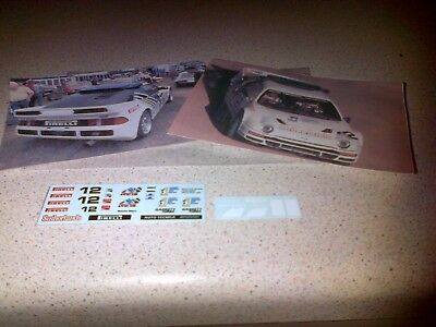 1/43 Decals Ford Rs200 Evolution Pikes Peak 1987 Malcolm Wilson # 12 Mega Sale