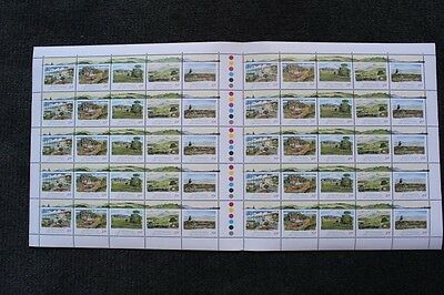 Australia Full Sheet The Pastoral Era Stamps 1989 .39 cent Stamps x 50 - MUH