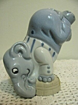 Royal Due Elephant Standing on Head, Gloss Finish, Pristine Condition