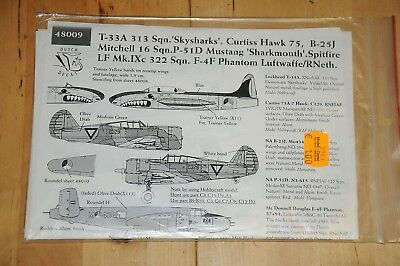 """Decals - Dutch Decal - T-33A 313 Sqn """"Skysharks"""" - 48009"""