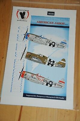 Decals - Eagle Strike - American Jabos Pt. IX; Thunderbolts of the 405 FG- 48100