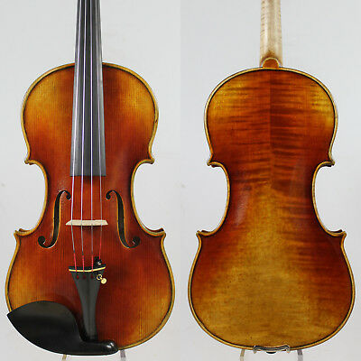 "Best ModelAntonio Stradivari 1709 ""The Viotti"" Violin 4/4 Copy!Best Model! #2931"