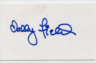 SALLY FIELD autograph HAND SIGNED 6097