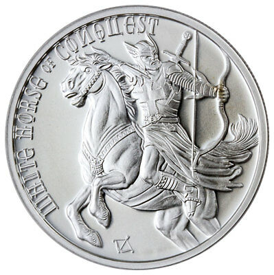 White Horse of Conquest 1oz Silver Four Horsemen of the Apocalypse- Low Mintage!