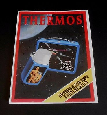 1977 Rare Star Wars Lunchbox Sales Brochure 1st known Star Wars issued item Wow!