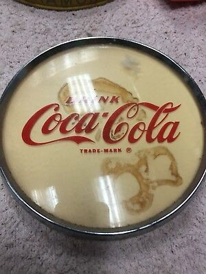 Coca Cola Sign For Pop Machine Vintage Drink
