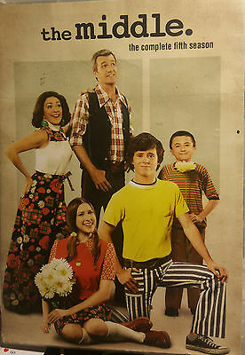The Middle: The Complete Fifth Season (DVD, 2014, 3-Disc Set)