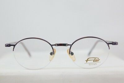 c907060e46 Great Vintage Flair Titanium Half Rimless Eyeglasses Brille New! Made In  Gemany