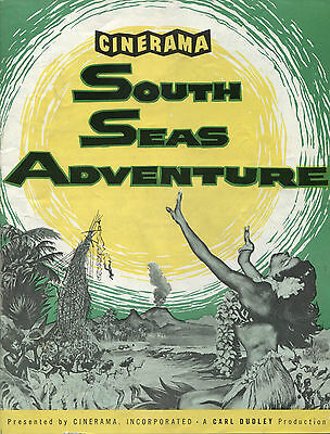 Cinerama South Seas Adventure (1958) - Original Programme - Printed in the USA