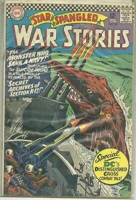 Star Spangled War Stories #127 DC (1966) Silver Age Comic (Suicide Squad Story)