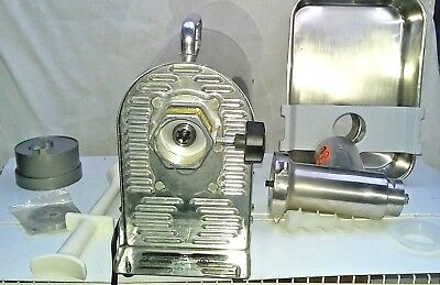 Weston #22 Stainless Steel Pro-Series Electric Meat Grinder And Sausage Stuffer