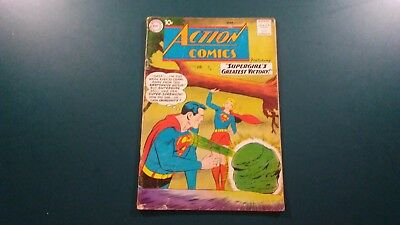 "Dc Action Comics #263 March 1960 Featuring ""supergirl's Greatest Victory!"""