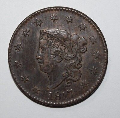 1817 Coronet Head Large Cent   1I