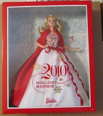 2010 Mattel HOLIDAY BARBIE ~ Barbie Collector ~ NIP