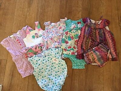 Baby Girls 00 Boho Print Rompers Pure Baby, Country Road, Jack And Milly, Sprout