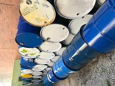 200 Litre Steel Drums Available for Pick Up - $10 for 2 drums