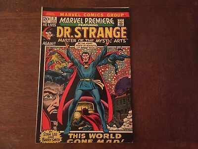 MARVEL PREMIERE Featuring DR. STRANGE #3 July 1972